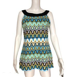 Tribal Lined Knit Top